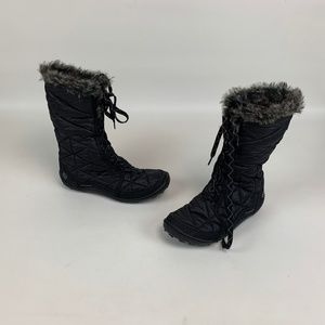 Columbia Boots Mid Calf Lace Up
